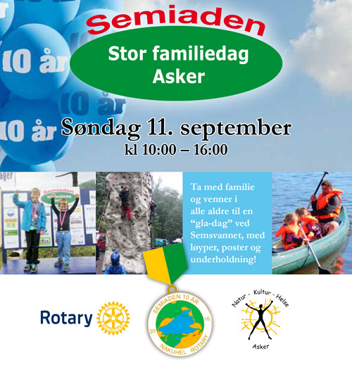 Program for Semiaden 11. september